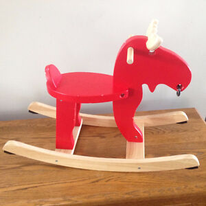 Moose Rocking Horse Toy