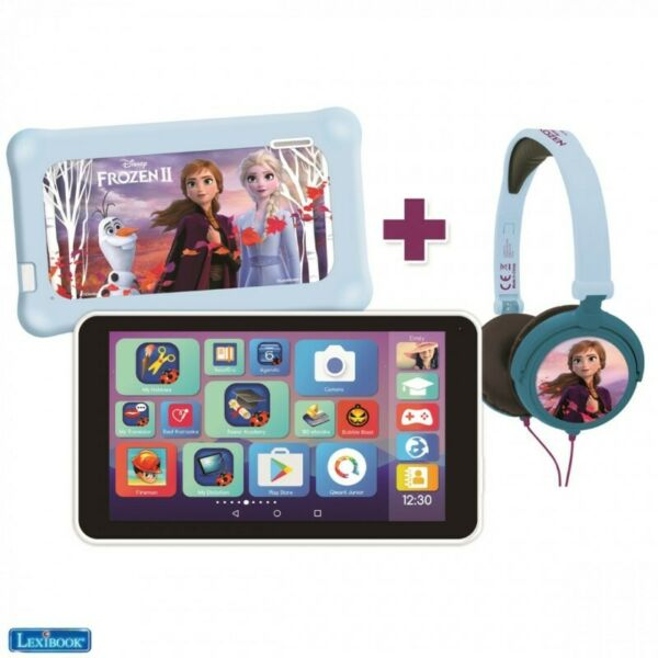Frozen Tablet With Headphones + Pouch