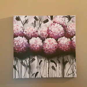 Original canvas painting hand painted ready to hang