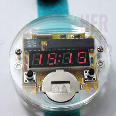 Electronic Crystal Table DIY Kits for SCM LED Watch Digital Watches GFHD-6554
