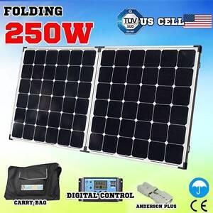 250w Folding solar Panel caravan battery charger 12v generator Wangara Wanneroo Area Preview