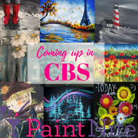 Paint Nite - Coming up in CBS