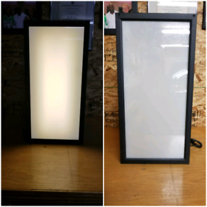 For Sale: Commercial light/picture display shadow boxes