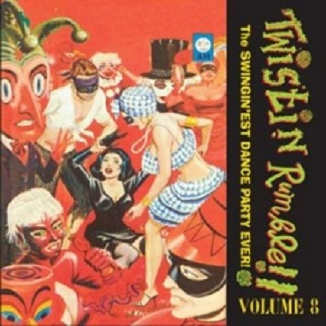 Tiny Fuller/The  Capris/+ - Twistin\' Rumble Vol.8  Vinyl LP Alternat. Rock Neu