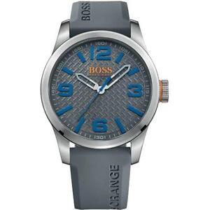 Boss Orange Men's 'PARIS' Quartz Stainless Steel Casual Watch 1513349