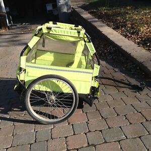 Kid bike trailer