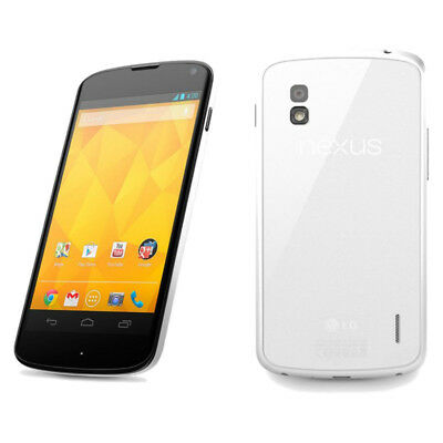 Nexus 4 E960 - 8GB - White (Unlocked) Smartphone