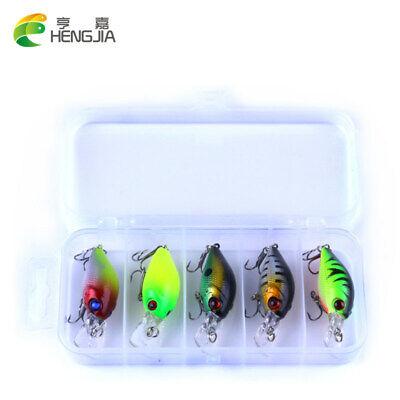 5pc 4.2g Fishing Lure Kit Box Tackle With Set Hook Jig Pesca Bait comprar usado  Enviando para Brazil