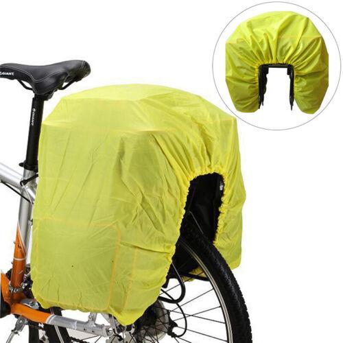 Bike Rear Rack Bag Raincover Waterproof Rear Seat Shelf Lugg