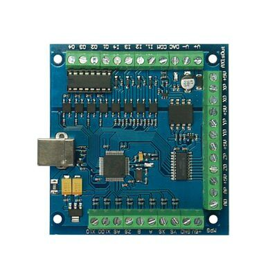 100khz Mach3 Usb 4 Axis Cnc Smooth Stepper Motion Control Card Breakout Board