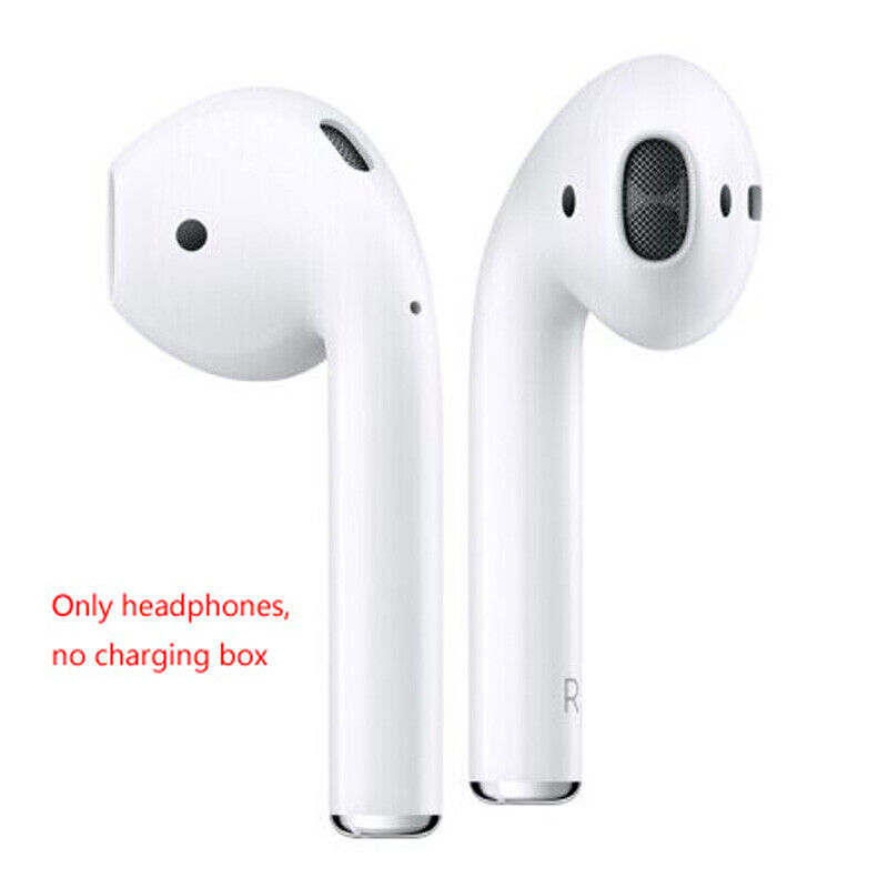Apple AirPods White Wireless Bluetooth In-Ear Headset DHL Ships Fast