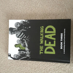 Walking dead hard cover book