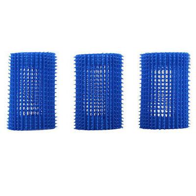 Hair Volume Up Rollers JET SET EZ GRIP Roller Value Kit Curlers Blue 45mm