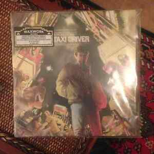 Waxworks vinyl Taxi Driver score and soundtrack MINT