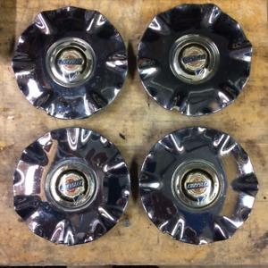"""Chrysler Sebring chrome wheel caps from 2001-03 16"""" chrome rims"""