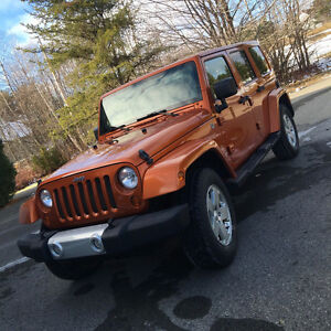 2011 JEEP WRANGLER SAHARA UNLIMITED *TRAIL RATED *EQUIPE *LOADED