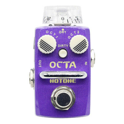 Hotone Octa Compact Digital Octave Guitar Pedal SOC-1