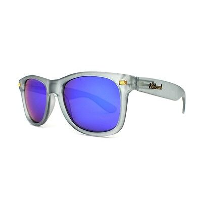 KNOCKAROUND Sunglasses Fort Knocks Moonshine Frosted Gray Shades Sunnies NEW
