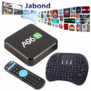 Android A96S Pro tv box box with Free mini keyboard