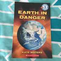 """""""Earth in Danger"""" book for $3"""