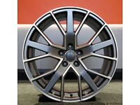 """22"""" RS6-D Style Alloy Wheel and Tyre Package 5X112 Audi Q5"""