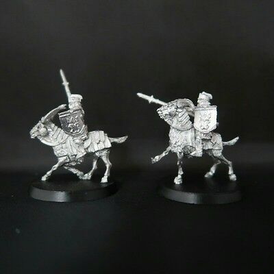 Games Workshop LotR 2 iron hills goat riders METAL RAR(Unreleased Miniatures)