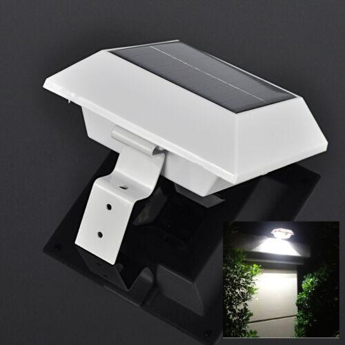 Solar Powered 4 Led Pir Motion Sensor Outdoor Wall Light