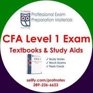 CFA Kaplan Schweser Level 1 2019 Study Guelph