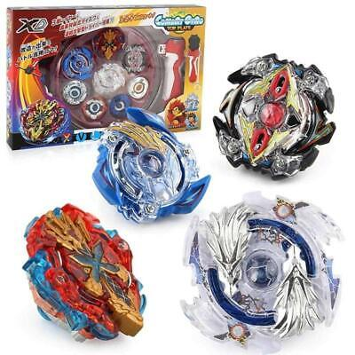 Rot Spinning Spielzeug Metall Beyblade Burst Arena Gyro Kampf Gyroskop Launcher