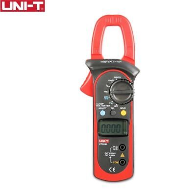 Uni-t Ut204a 600a Digital Clamp Meter Auto Range Dmm Hz Ac Dc Temperature Tester