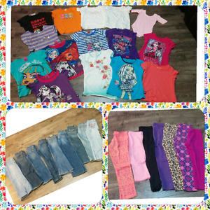 Girls Clothes  Size 7-8