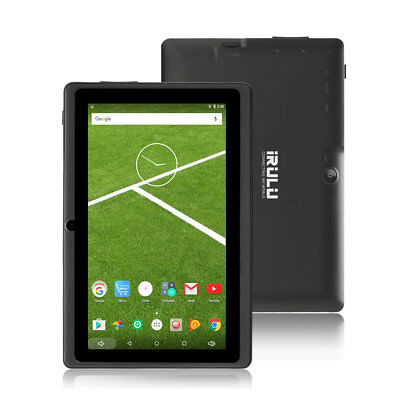 iRULU X3 7 Inch Android 6.0 Marshmallow Tablet PC 16GB Quad Core Wifi GMS Black