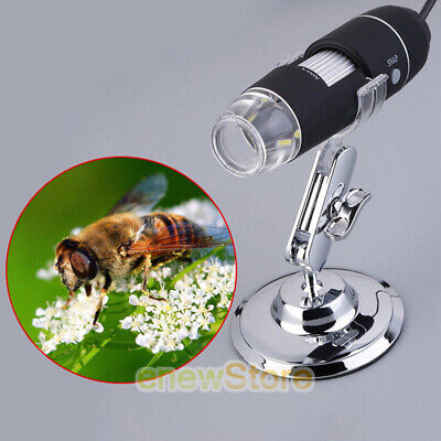 1000x Magnifier 8led Usb Digital Microscope Camera For Iphone Android Mac Widows