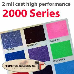 "12"" x 24"" X 1 Sheet Glitter  Decal Sign Vinyl Film Silhouette"