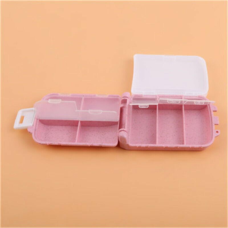Portable Pill Plastic Holder Box