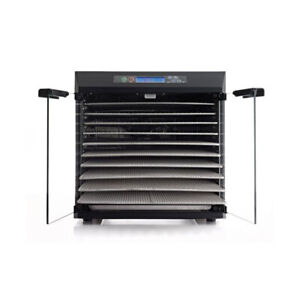 10 Tray Excalibur Stainless Steel Food Dehydrator