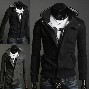 PJ-Korean-Men-s-Shinning-Handsome-Slim-Fit-Hooded-Coats-Hoodies-4-Size-S-XL
