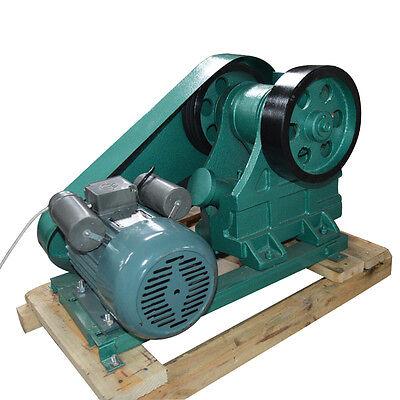 220v 100x60 Mini Jaw Crusher For Rock Ore Slag Steel Slag Coal Stone Crushing