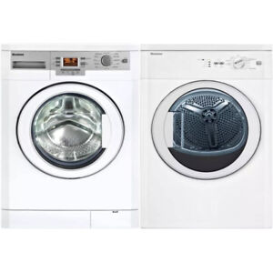 Brand New - Stackable washer-dryer combo, white, Blomberg