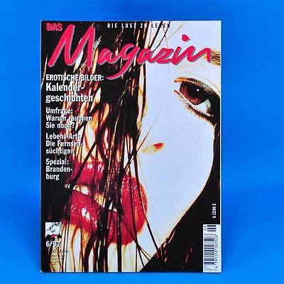 Das Magazin 6/1997 | Akt Erotik | Nachf. der DDR-Kult-Zeitschrift Geburtstag