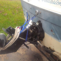1980 Bayliner project boat w 2 trailers, single and tandem axle