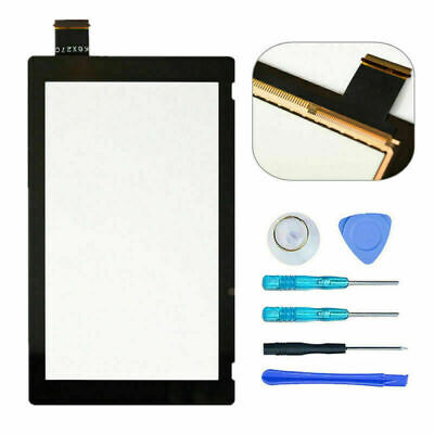 Black Touch Screen Digitizer Replacement Part for Nintendo Switch + Tools Kit US