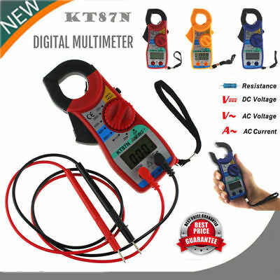 Digital Clamp Multimeter Voltmeter Ammeter Ohmmeter Volt Amper Tester Meter Lot