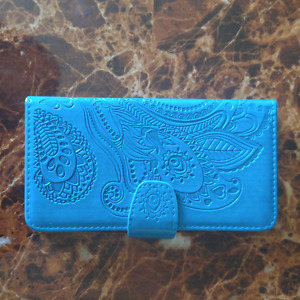 Peacock blue phone case for LG