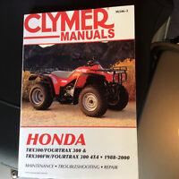 Calumet Honda manual