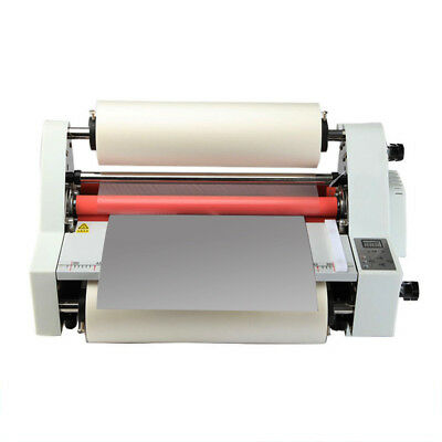 17digital Display Hot Cold Roll Laminator Singledual Sided Laminating Machine