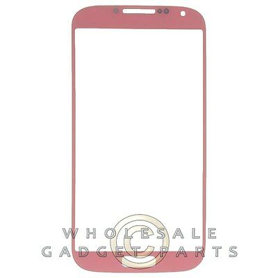 Lens for Samsung Galaxy S4 Lorgnon Only Pink Black Glass Screen Cover Protective