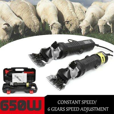 650W 2400RPM Pro Heavy Duty Electric Sheep Goat Clipper Animal Shearing Trimmer