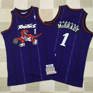 Brand New  Tracy McGrady Retro White Raptors Basketball Jersey f5d7f5490