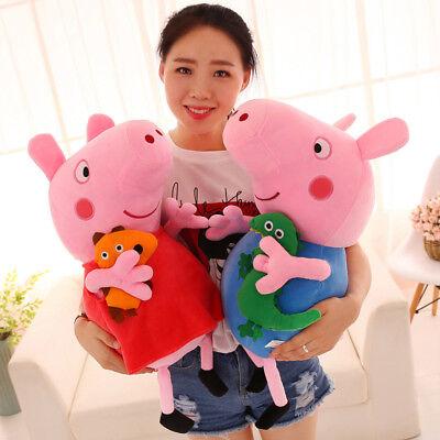 Neu Hot Peppa Wutz Familie Peppa Pig Schweine Plüschtiere Plüsch Puppe
